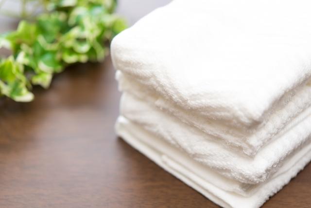 白いタオルの黄ばみを白く漂白する3方法!比較して検証してみた!