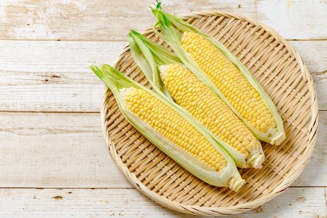 トウモロコシは電子レンジで加熱?甘いものの選び方とは?【教えてもらう前と後】