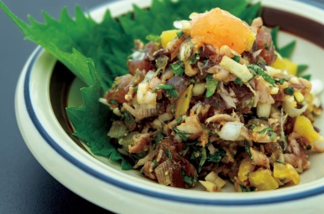 大葉生姜のアジ入り彩サラダの作り方!熱中症レシピ【林修の今でしょ!】