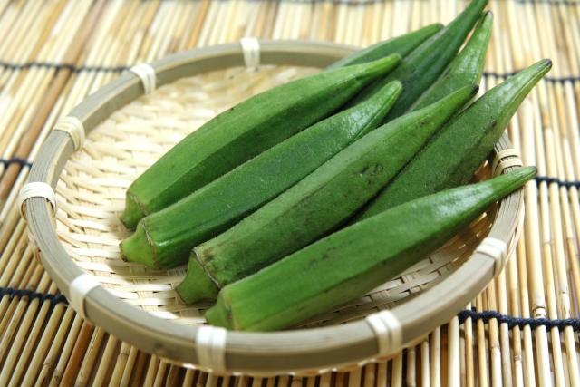 オクラのネバネバの栄養素とは?美味しいオクラの選び方!【ハナタカ】