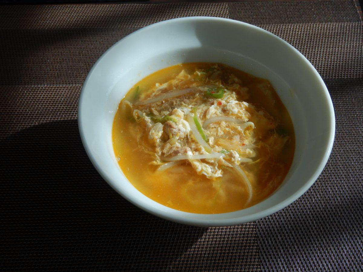韓国のもやしスープ!コンナムルクッパの作り方!簡単で5分で作れる!