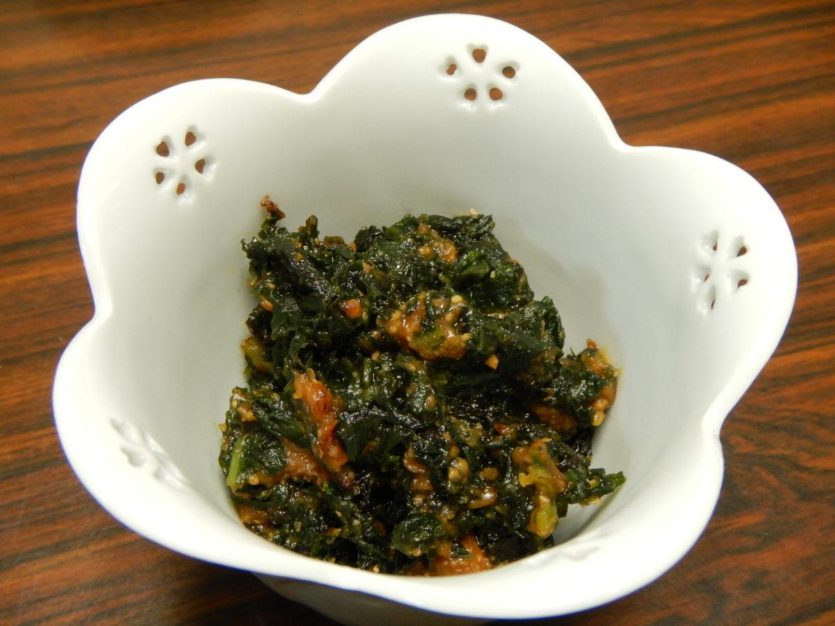 の 葉 の 料理 ふき ふきの葉を無駄なく利用する【炒め煮の作り方】