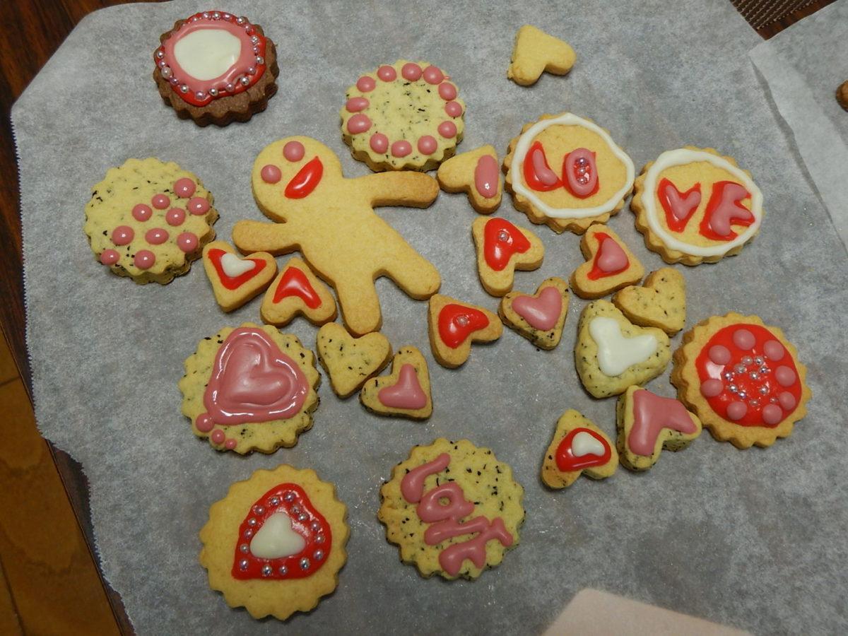 100均クッキー!ミックス粉で可愛く作ってみたた♡アイシングでデコレーションも!