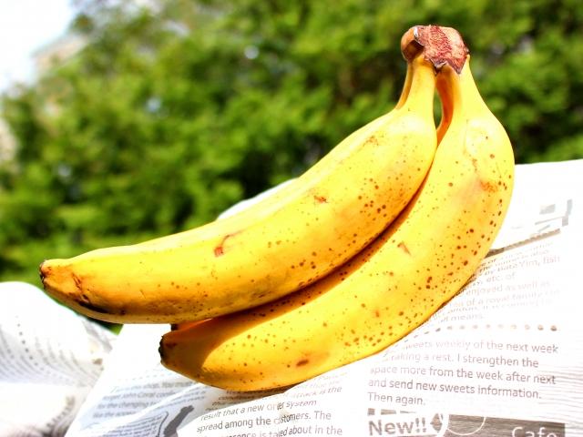 バナナの黒い斑点の名前や栄養は?なぜできるの?食べてもいいの?