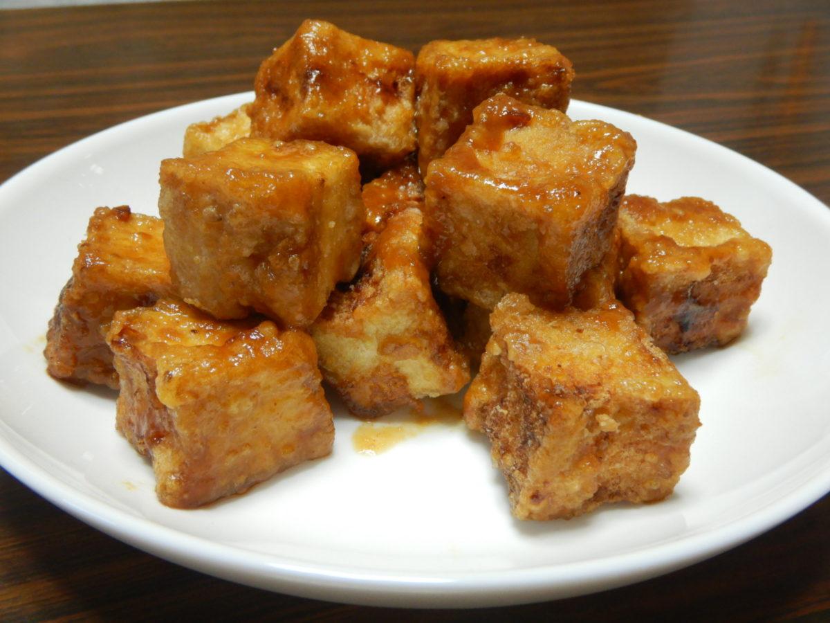 石垣島で食べた豆腐のガーリック揚げの再現レシピ!島豆腐がなくてもできる!