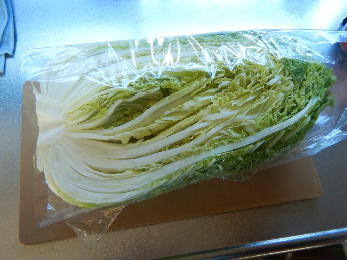 白菜の保存方法(冷蔵&冷凍)!長持ちさせるには○○をするだけだった?