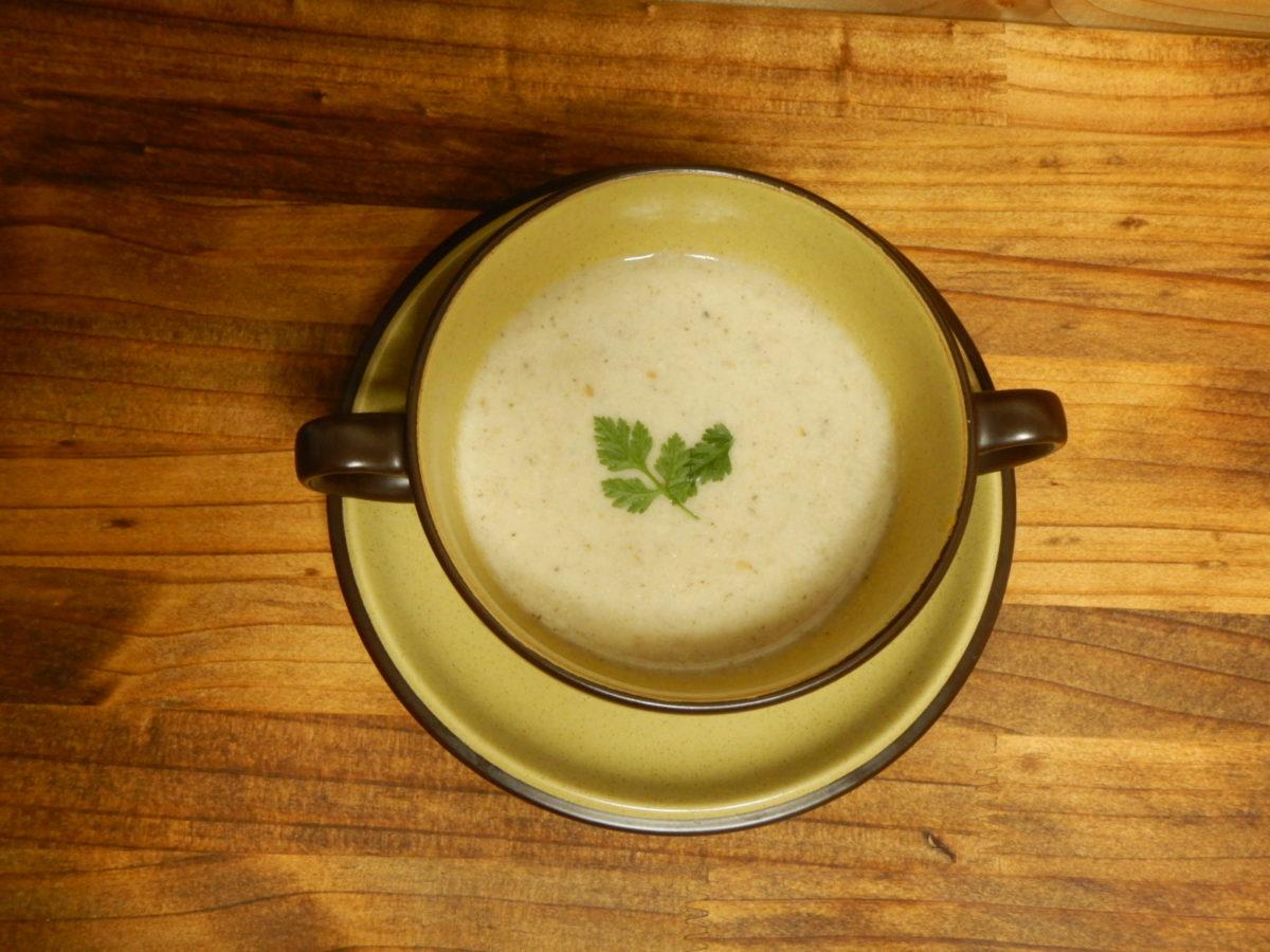 きのこスープ簡単レシピ!ミキサーを使って温めるだけ?超時短!